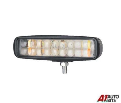 """16 Cm 6/"""" 54w Car 12v 24v Led Work Flood Light Spotlight Lamp Van Atv Offroad"""