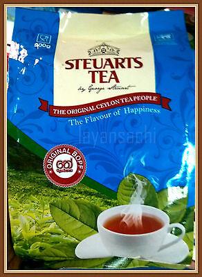 Sri Lanka Ceylon Steuart Tea 200g , 400g, Packets and Tea Bags 50 ,100 Boxes