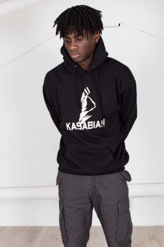 Official Kasabian Ultra Face Unisex Hoodie Empire Velociraptor Crying Out Loud