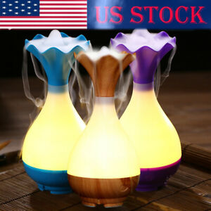 USB-Air-Humidifier-Ultrasonic-Aromatherapy-Essential-Oil-Aroma-Diffuser-Wood-US