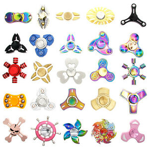 USA Fidget Focus Toy HAND SPINNER Finger EDC Stress ADHD Autism Toys Kids Adults
