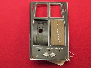 Center Console Shift Plate Automatic