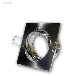 Cadre-D-039-Encastrement-Satine-Luminaire-a-Encastrer-MR16-GU5-3-Pivotant