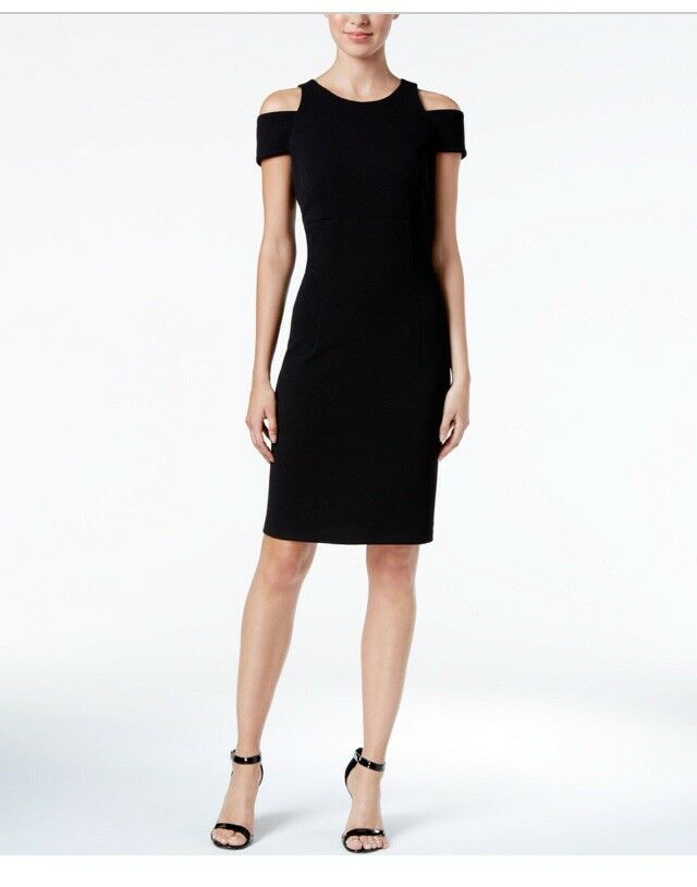 MSK New Cold-Shoulder Sheath Dress Size 6 MSRP  89