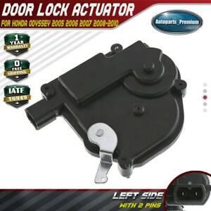 A-Premium Door Lock Actuator Compatible with Honda Odyssey 2005-2010 Driver Side with Power Sliding Doors