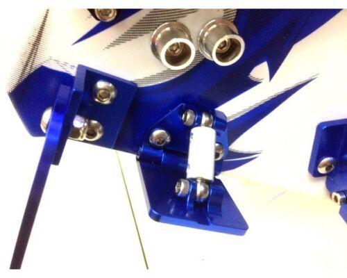 NEW Hot Racing Aluminum Adjustable Trim Tabs for Traxxas Spartan SPN311AR06