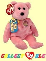 Ty® 8 Eggs 2008 Beanie Babies® Pink Bear 42008 Mint With Unused Game Code
