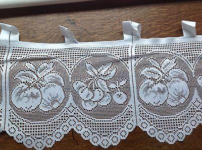 brise bise cantonnière rideaux à décor vendu au mètre B24