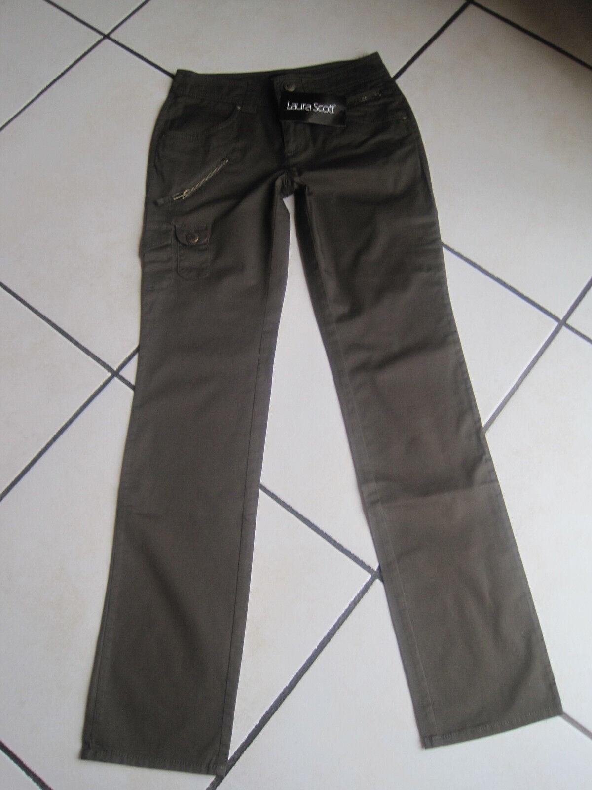 Laura Scott Cargo-Jeans Gr. 32 (16) - Länge 101 cm BW 34 5-36 5 cm dehnb.