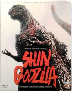 Blu-ray-Shin-Godzilla-Special-edition-slipcase-2-dischi-2016-Usato