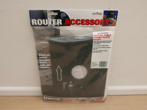 TREND Router table insert plaque RTI//Plate//A