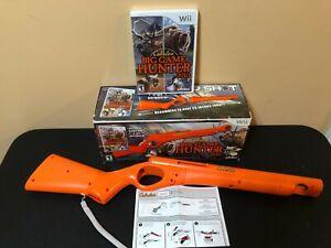 CABELA-039-S-BIG-GAME-HUNTER-2010-Top-Shot-Peripheral-Gun-Sealed-Game-NOB
