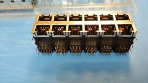 SS-73100-001-Connector-Modular-Stack-Jack-F-96-POS-2-54mm-Terminal-12-Port