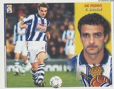 DE PEDRO # ESPANA REAL SOCIEDAD LIGA 2003 ESTE STICKER CROMO