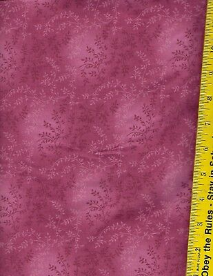 """47603 108/"""" EXTRA WIDE QUILT BACKING A06 TVW 100/% COTTON BTY TONAL VINEYARD"""