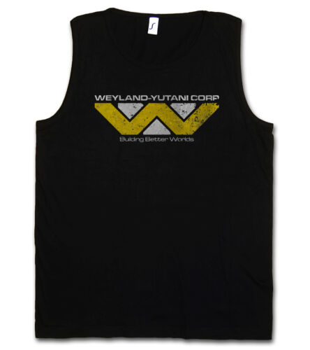 "Weyland /""Corp tank top t-shirt prométhée uscss Nostromo Alien Corperation"