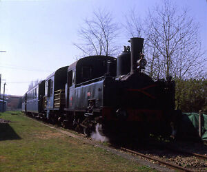 Larger-colour-transparency-MF-99011F-FRENCH-RAILWAYS-0-6-0T-at-Connerre-Beille