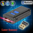 Mini Portable Wireless Bluetooth Barcode Laser Scanner for Apple iOS Android Win