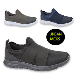 finest selection 4a9b2 20e61 Chargement de l image en cours Homme-Slip-On-Sports-Leger-Running-Gym- Baskets-