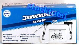 Bien éDuqué Elevador Colgador Poleas Soporte Techo Para Bicicleta Max 20 Kgs 554289 Tol