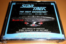 STAR TREK tng THE NEXT GENERATION cd SOUNDTRACK volume 1 picard 78 TRACKS !!