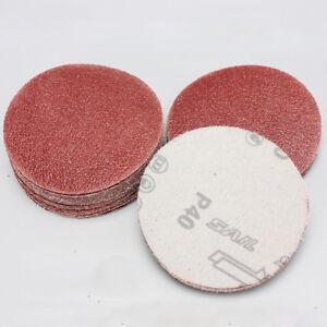 3'' 75mm Round Sanding Disc Hook Loop 60-2000 Mixed Grit Sandpaper Polishing Pad