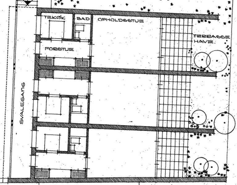 8800 vær. lejlighed, 42, Sct Mogensgade