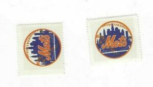 1983-FLEER-BASEBALL-2-STAMPS-NEW-YORK-METS