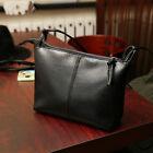 Fad PU Leather Messenger Crossbody Lady Shoulder Bag Satchel Handbag Tote Black