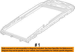 image is loading jeep-chrysler-oem-14-18-cherokee-sunroof-frame-
