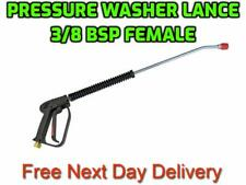 Pressure Washer Jetsteam Cleaner Gun Lance Nozzle Assembly 38 Bsp Fm Bent End