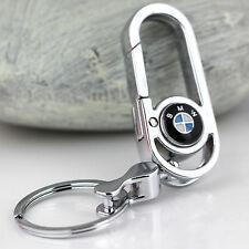 Fashion Zinc Alloy Metal car logo key chain key-ring Fit For BMW
