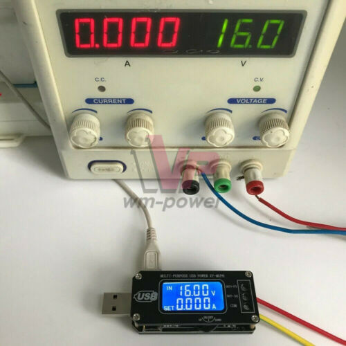 USB LCD Step UP//Down boost power supply Adjustable 5V To 3.3V 9V 12V 24V Module