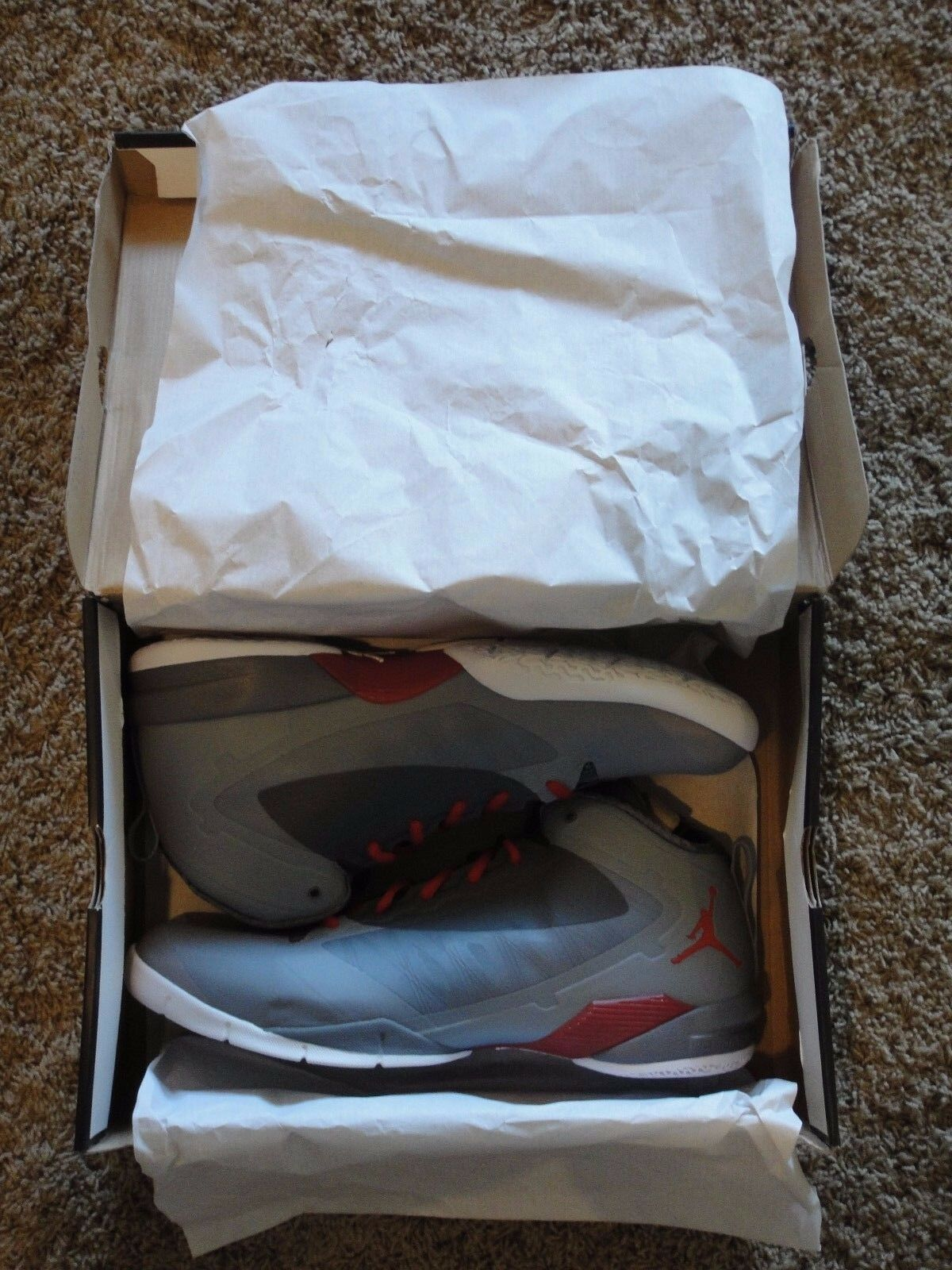 NIKE AIR JORDAN 2012 PROMO SAMPLE SHOES DWYANE WADE WADE WADE PE SIZE 15.5 NEW IN BOX WOW 87aaa5