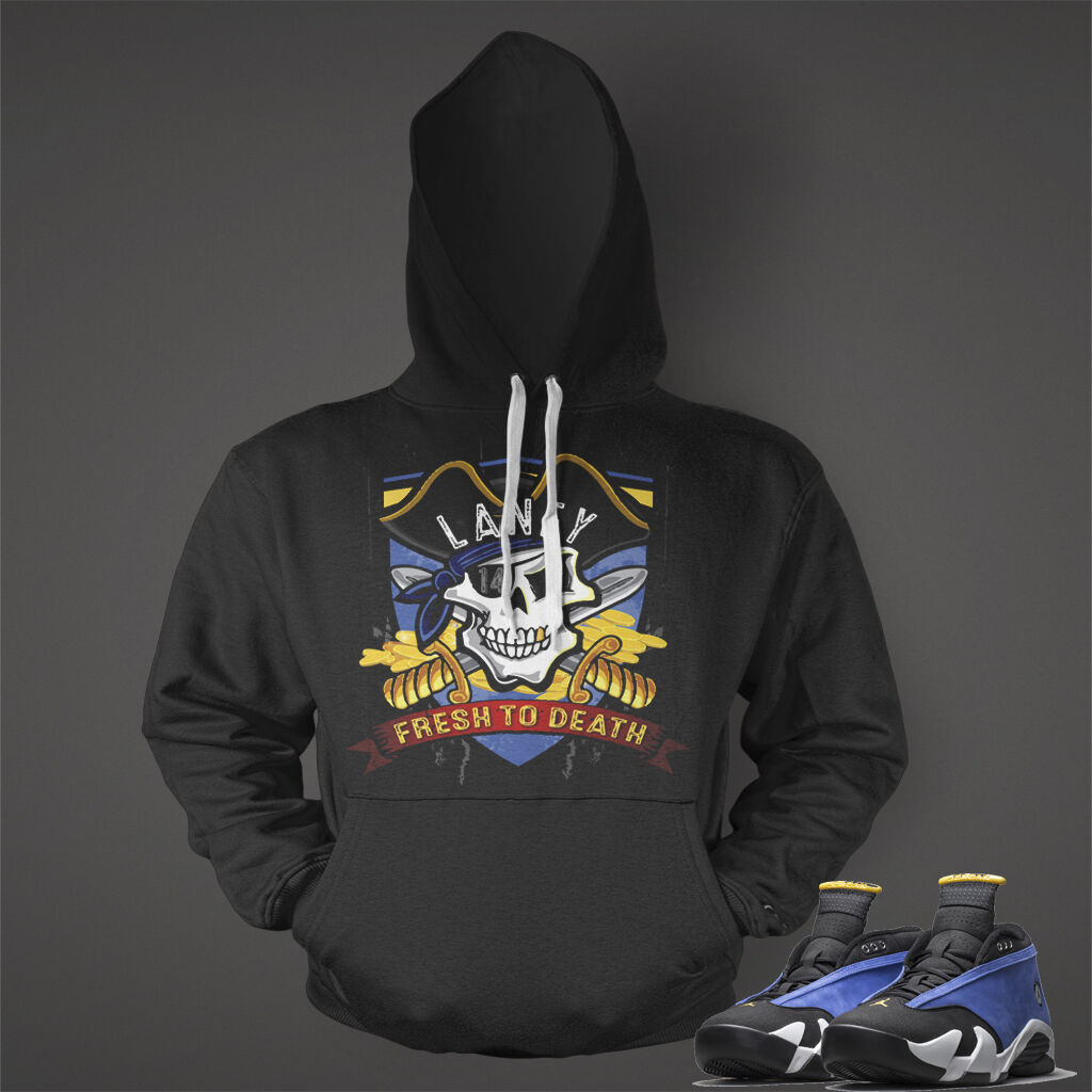 Hoodie to Match  Air Jordan 14 Niedrig Retro Laney Turnschuhe Men Graphic Pull Over