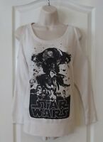 Rock & Republic Star Wars Cold-shoulder Terry Women's Sz Xs L Msrp$54