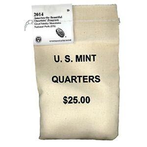 2014-S-Great-Smokey-Mountains-Quarters-25-00-Mint-Bag