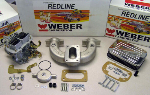 1962-1980 MG MGB 1.8 Weber Conversion Kit with Cannon Intake Manifold