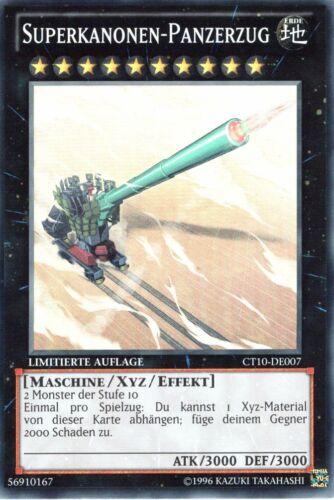 Super canons-panzerzug-ct10-de007 Tin Box Super Rare FR Presque comme neuf TDM