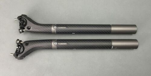 Carbon 3K MTB Road Bike Seat Saddle post Bicycle Seatpost tube 27.2//30.8//31.6mm