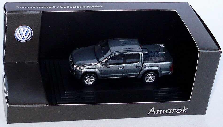VERY RARE VW AMAROK TSI TDI 2K 4X4 NATURAL GREY 1 87 WIKING (OEM DEALER MODEL)