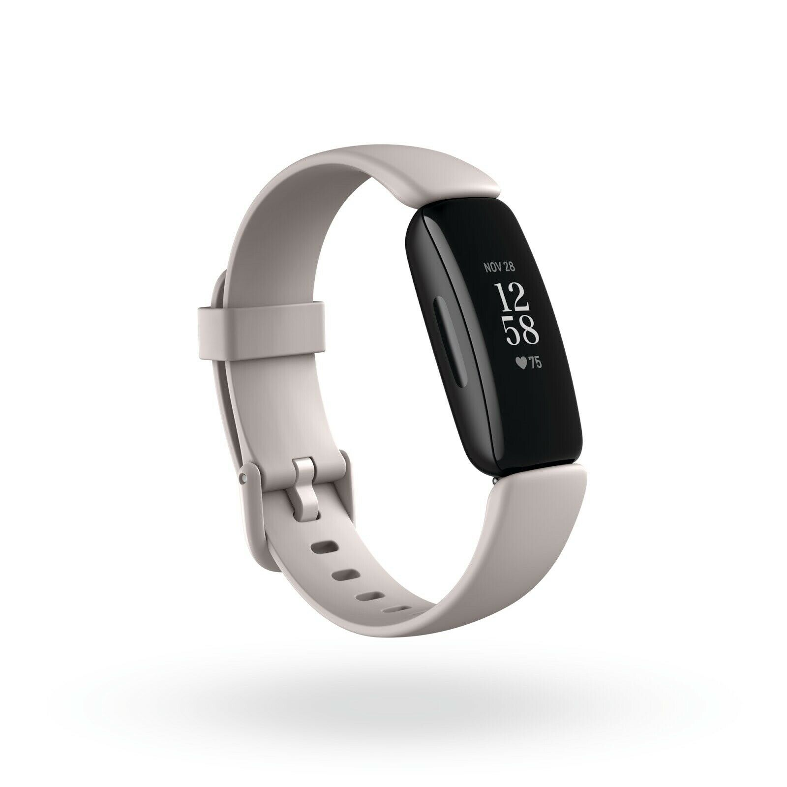 Fitbit Inspire 2 Activity Tracker - Lunar White Fitness Tracker + Heart Rate