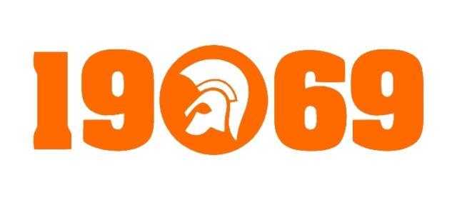 Trojan 1969 sticker X2 PAIR scooter skins mod ska reggae northern soul 2 tone