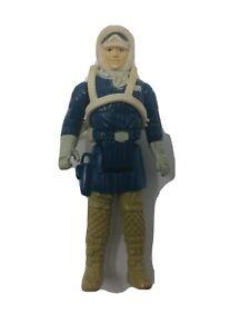 Vintage 1980 Star Wars HOTH Han Solo ESB Rebel Figure w/ Backpack