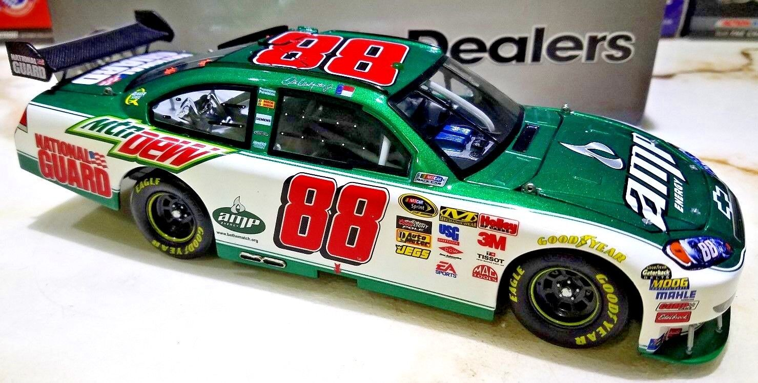 Dale Earnhardt Jr 2010 Impala  88 AMP ENERGY/NATIONAL GUARD 1 OF 144 1/24 ACTION
