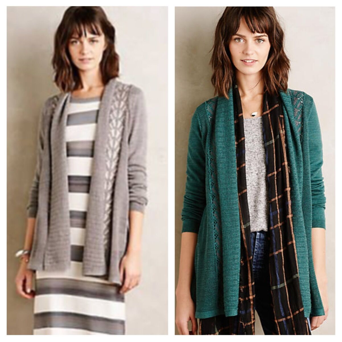 NWT  128 Anthropologie Messina Cardigan Sweater Knitted & Knotted