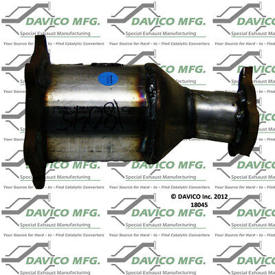 Catalytic Converter-Exact-Fit Pre Converter Front Left Davico Exc CA 17323