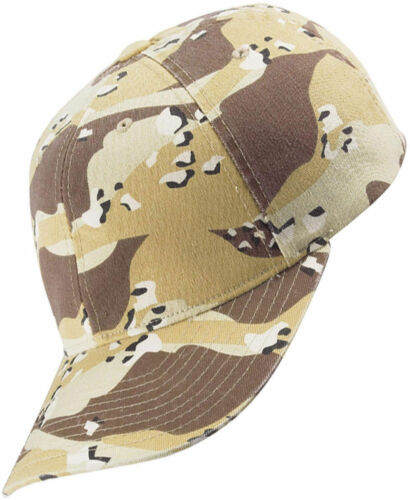 Yupoong Camouflage Hat 6 Panel Structured Soft Low Profile Cap 6977CA