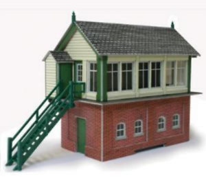 Metcalfe PO233 Signal Box Card Kit OO/HO Gauge 743181961158