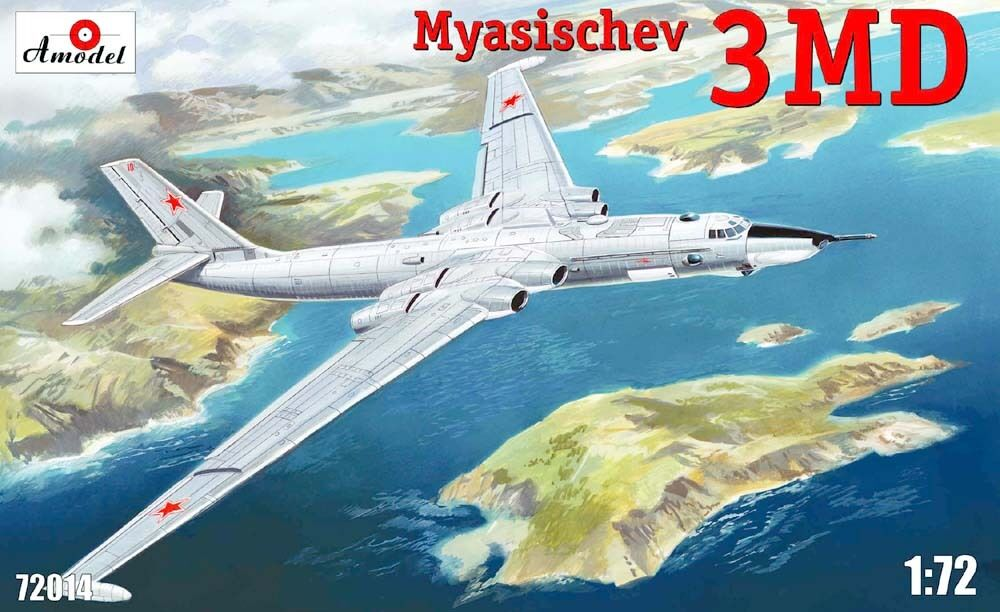 MYASISCHEV 3MD BISON  AMODEL 1 72 FIBER PLASTIC PLASTIC PLASTIC KIT 2f30b3